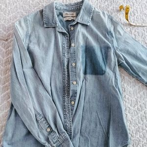 Madewell Denim Button Down